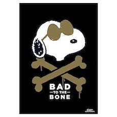 Joe Cool - Bad To The Bone Wall Art Poster