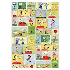 Peanuts - Classic Comic Strip Wall Art Poster