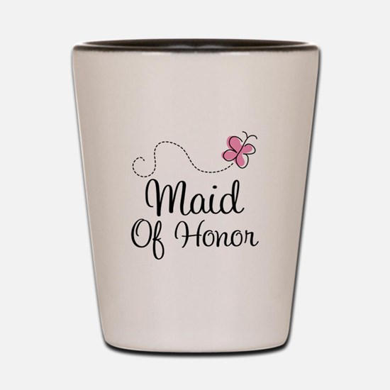 Maid of Honor Shot Glass