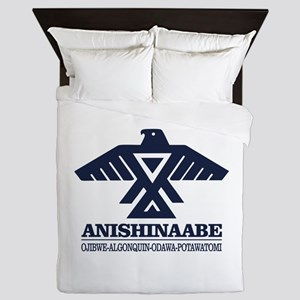 Anishinaabe Queen Duvet