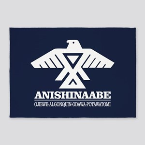 Anishinaabe 5'x7'Area Rug