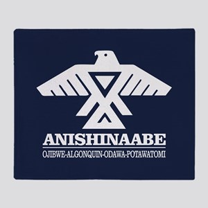 Anishinaabe Throw Blanket