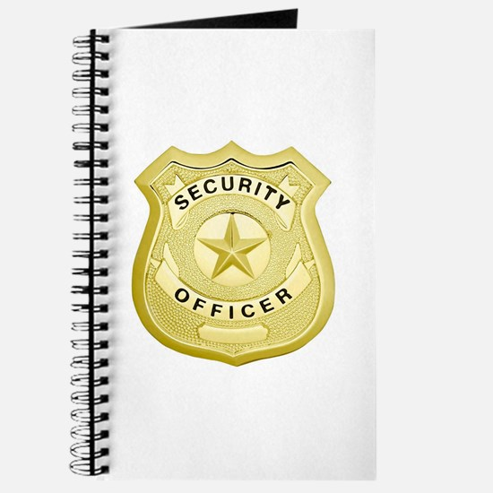 Security Officer Journal
