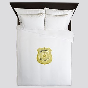 Security Officer Queen Duvet