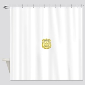 Security Officer Shower Curtain