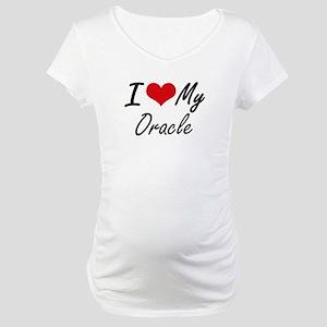 I love my Oracle Maternity T-Shirt