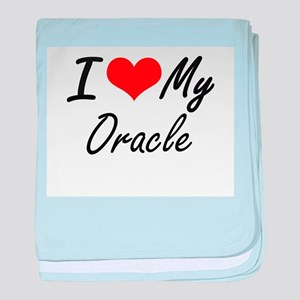I love my Oracle baby blanket