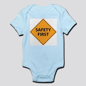 Safety First Sign Body Suit