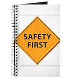 Safety manager Journals & Spiral Notebooks