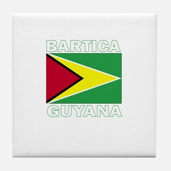 Bartica, Guyana Tile Coaster