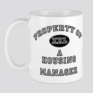 Property of a Housing Manager Mug