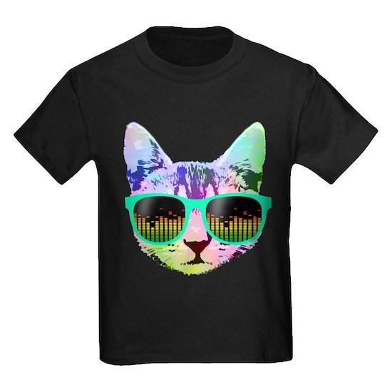 Rainbow Music Cat