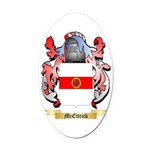 McEttrick Oval Car Magnet