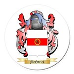 McEttrick Round Car Magnet