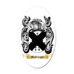 McErrigle Oval Car Magnet