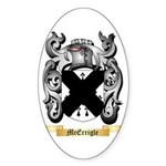 McErrigle Sticker (Oval 10 pk)