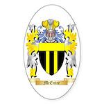 McEntee Sticker (Oval 50 pk)