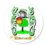 McEnroe Round Car Magnet