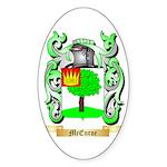 McEnroe Sticker (Oval)