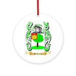McEnroe Round Ornament