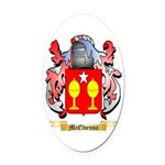 McElvenna Oval Car Magnet