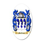 McElroy 35x21 Oval Wall Decal
