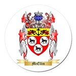 McEllin Round Car Magnet