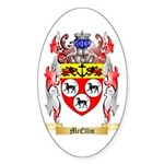 McEllin Sticker (Oval 50 pk)