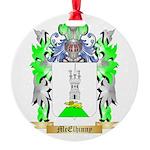 McElhinny Round Ornament