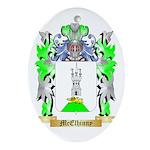 McElhinny Oval Ornament