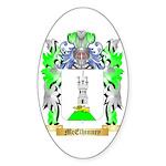 McElhinney Sticker (Oval 50 pk)