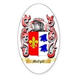 McEgill Sticker (Oval 50 pk)