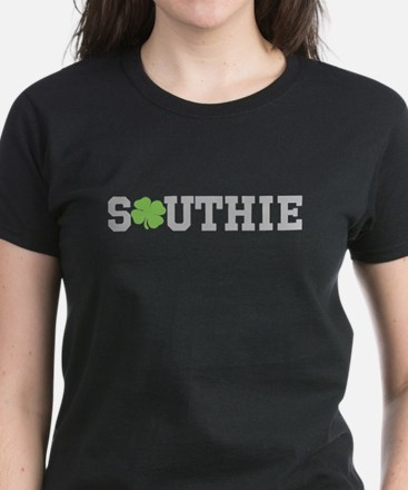 SOUTHIE (SHAMROCK) Women's Dark T-Shirt