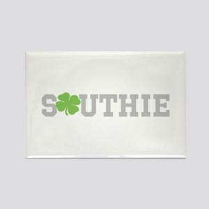 SOUTHIE (SHAMROCK) Rectangle Magnet