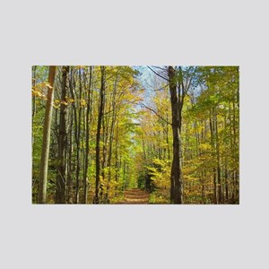 Nature Trail Rectangle Magnet