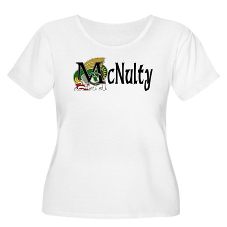 McNulty Celtic Dragon Women's Plus Size Scoop Neck