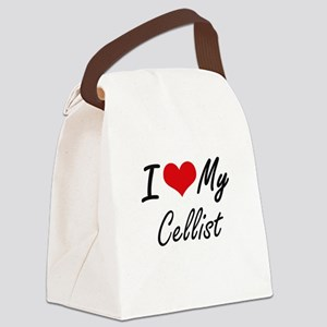 I love my Cellist Canvas Lunch Bag
