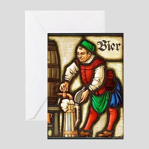 Bier Greeting Card
