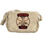 Heathen Talk Logo Messenger Bag