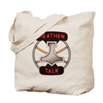 Heathen Talk Logo Tote Bag