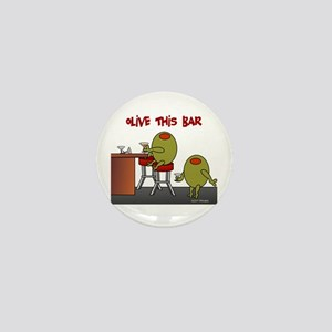Olive This Bar Mini Button