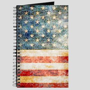 Stars over Stripes Vintage Journal