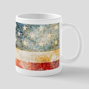 Stars over Stripes Vintage Mugs