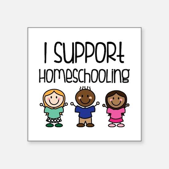 I Support Homeschooling Sticker