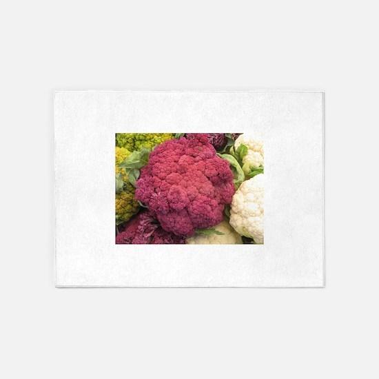 IMG_9303.JPG ppurple cauliflower in 5'x7'Area Rug
