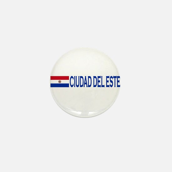 Ciudad del Este, Paraguay Mini Button