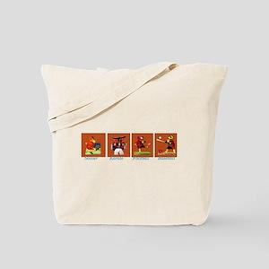 Sports Moose  Tote Bag