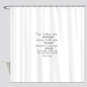vodka humor Shower Curtain