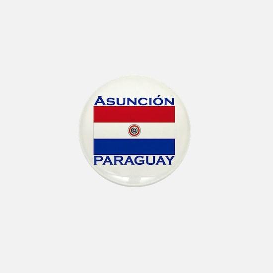 Asuncion, Paraguay Mini Button