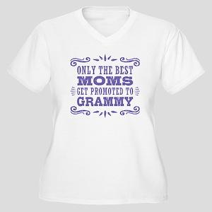 Best Moms Get Pro Women's Plus Size V-Neck T-Shirt